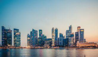 paysage d'une ville avec beaucoup de buildings